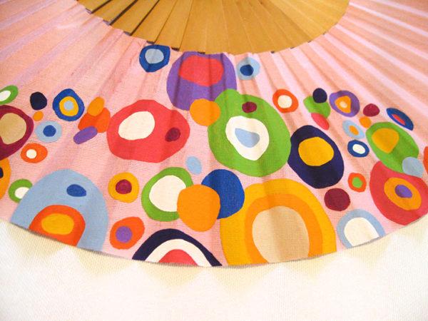 Abanico Burbujas: Detalle del dibujo